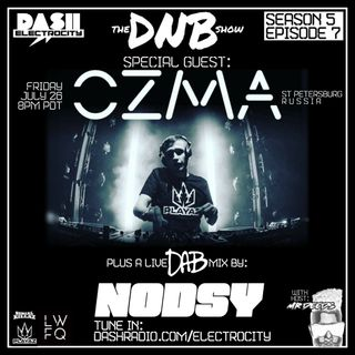 the DNB show Episode 49 (guest mix OZMA & NODSY)