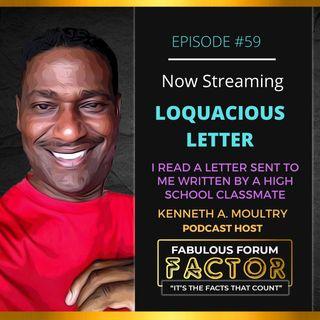 Loquacious Letter