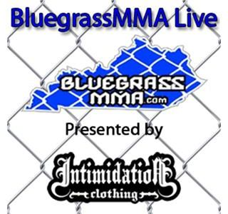 Intimidation Clothing Presents Bluegrass MMA Live