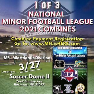 2021 Minor Football League Mid-Atlantic Division Combine March 27