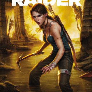 "Source Material #154 - Tomb Raider ""Season of the Witch"" (Dark Horse) (2014)"