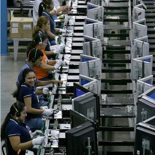 En junio, aumento 17. 89 % la producción industrial del país, según el INEGI