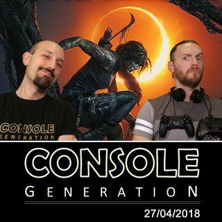 Anteprima Shadow of the Tomb Raider e altro! - CG Live 27/04/2018