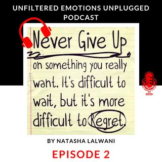 Episode 2: The Art Of Never Giving Up