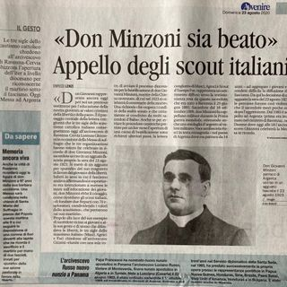 In memoria di Don Giovanni Minzoni