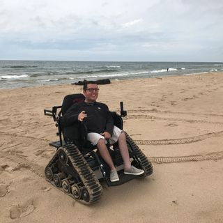 Traveling the world in a powered wheelchair
