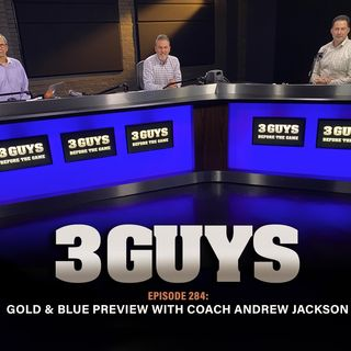 Gold and Blue Preview with coach Andrew Jackson