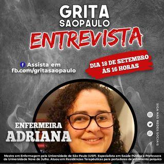Professora Adriana Covino fala sobre Saúde Mental e desafios do setor da Enfermagem