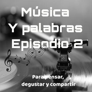 Música y Palabras 2