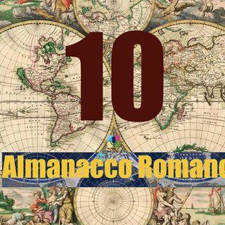 Almanacco romano - 10 gennaio