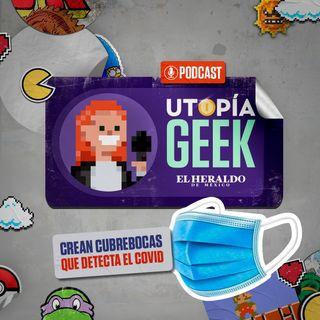 El cubrebocas que DETECTA el COVID-19  | Utopia Geek, videojuegos y comics