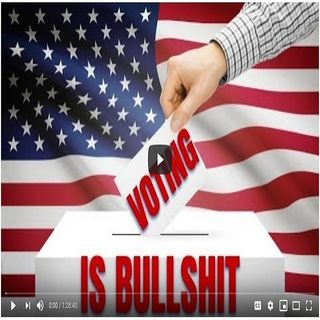 #Voting is BullS#*t - Crumb TV Audio from #CrumbTV ( @CrumbTV1 ) ( #GetSNATCHED ).