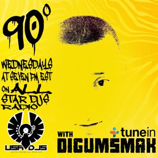 90 Degrees on All Star Djs Radio