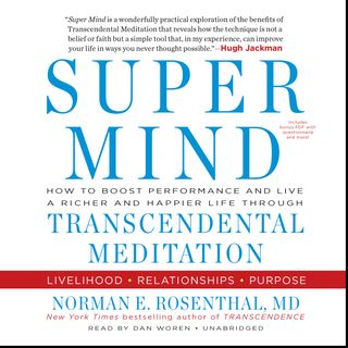 Dr Norman Rosenthal: SUPER MIND