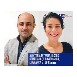 #032 Potencial Compliance Cast | Gerenciando as áreas de GRC e Auditoria Interna com Rafael Accardo