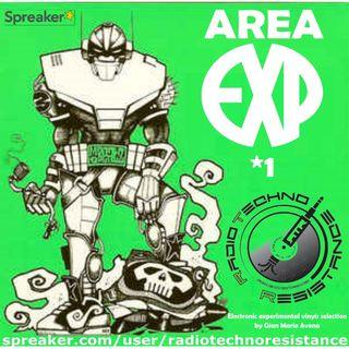 AREA EXP 01 - Techno Experimental Vinyls Selection by Gian Mario Avena