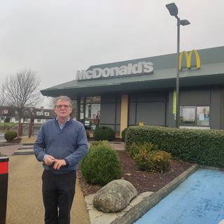 "McDonald's Franchisee Joe Byrne says there's been a huge take up in ""McDelivery"""