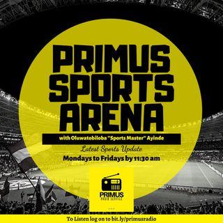 PRIMUS SPORTS ARENA 22-04-2020