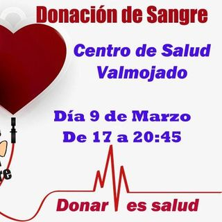 Donación de Sangre - Viernes 9 de marzo