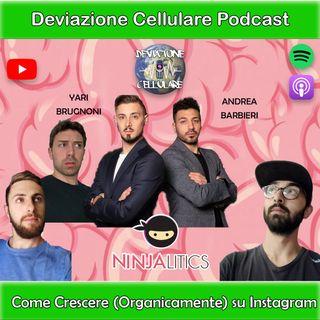 Ep. 8: Come Crescere (Organicamente) su Instagram con Ninjalitics