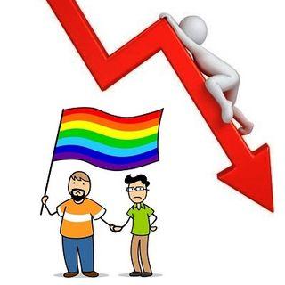 L'ideologia LGBT perde metà dei consensi