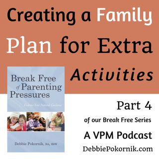 Creating a Family Plan for Extra Activities