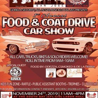 Food & Coat Drive Car Show