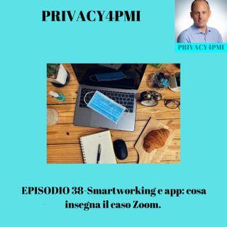 EPISODIO 38-Smartworking e app: cosa insegna il caso Zoom