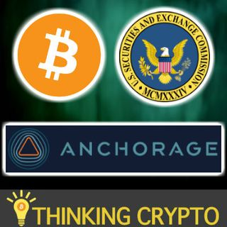 BITCOIN Hits $9K Then Pulls Back - SEC Forum - Anchorage Crypto Custody Insurance - Coinbase EOS - Binance CRED