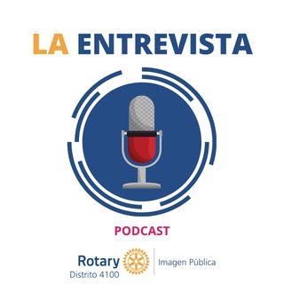 El Sapo que se convirtió en Rotario con Ángel Cortés