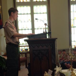 Eagle Scout Mason Miller
