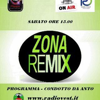ZonaRemix 7 marzo RadioOvest