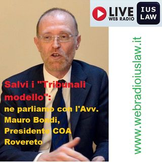 """Il Ministro della Giustizia Orlando salva i """"Tribunali Modello"""": intervista con l'Avv. Mauro Bondi, Presidente COA Rovereto"""