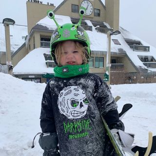 Vermont Toddler Snowboarding Sensation