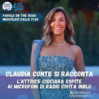 L'attrice e scrittrice Claudia Conte si racconta su Radio Civita InBlu