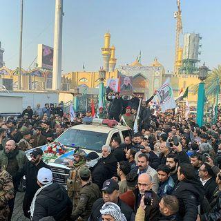 Iraquíes despiden a generales muertos tras ataque de EUA