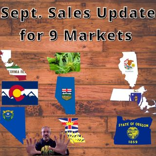 Sept. Cannabis Sales Update for 9 Markets