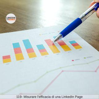 119-Misurare efficacia di una Pagina LinkedIn
