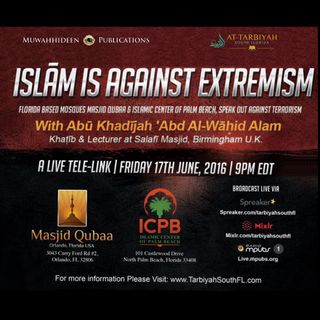 01 Islam is Against Extremism