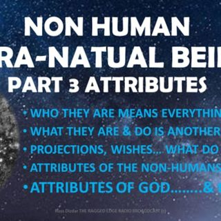 SUPRA NON HUMAN BEINGS PART 3 ATTRIBUTES