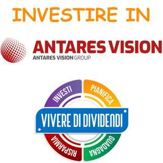 INVESTIRE IN AZIONI ANTARES VISION - ne parliamo con il CFO Alioscia Berto