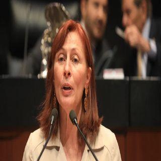 Tatiana Clouthier tomó posesión como la nueva titular de la Secretaría de Economía