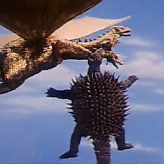 King Ghidorah 1968 Suit