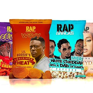 Walmart Master P and Rap Snacks