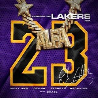 El Alfa Feat. Nicky Jam, Ozuna, Secreto Y Arcangel – A Correr Los Lakers (Remix)