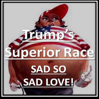 TRUMP'S Superior Race = Not White, TEDDY BEAR, Ignorant, Obese, Individual 1, Liar and 240,000 DEAD American is OK! @realdonaldtrump #votebl