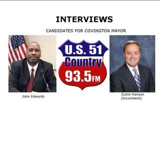 Interviews:  Covington Mayoral Candidates