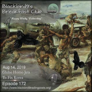 Globo Homo Jets To Fix Korea - Blackbird9 Podcast