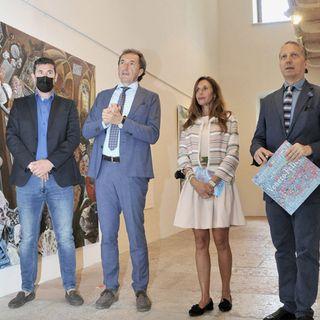 """Al Museo Le Carceri 14 pittori e un ceramista raccontano il """"Veneto Felice"""""""