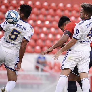 Gol de Independiente: Silvio Romero 1-0